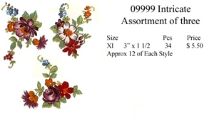 09999 Intricate (Assortment of Three)
