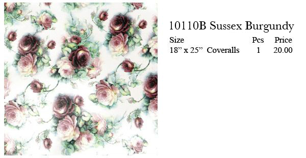 10110B - SUSSEX BURGUNDY