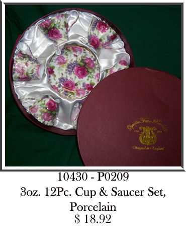 10430 - P0209 3oz Pc Cup & Saucer Set