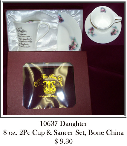 10637Daughter 2Pc Tea Set