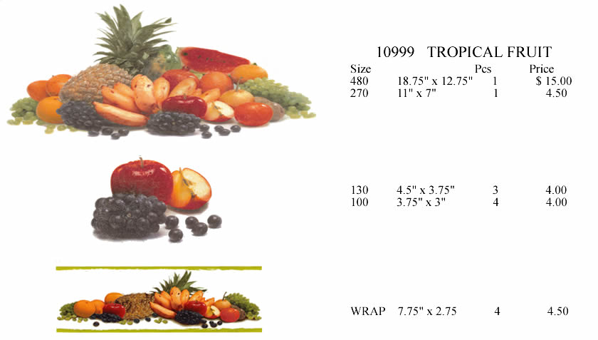 10999 Tropical Fruit