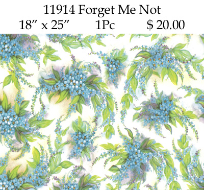 11914 - FORGET ME NOT