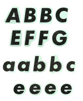2563P Upper /Lower Case Letters