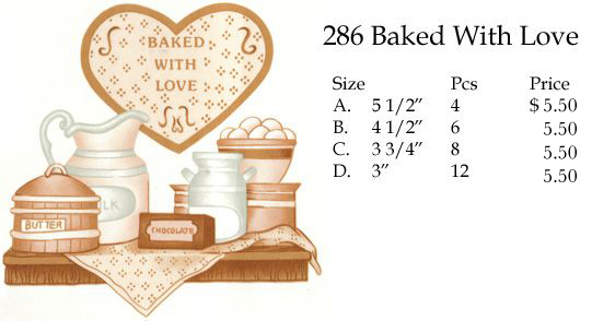 286 Baked With Love