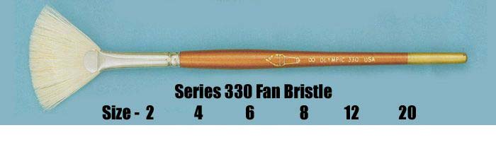 Series 330 Fan Bristle Brushes