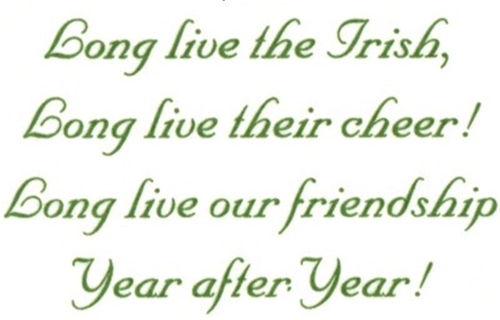504E Long Live The Irish