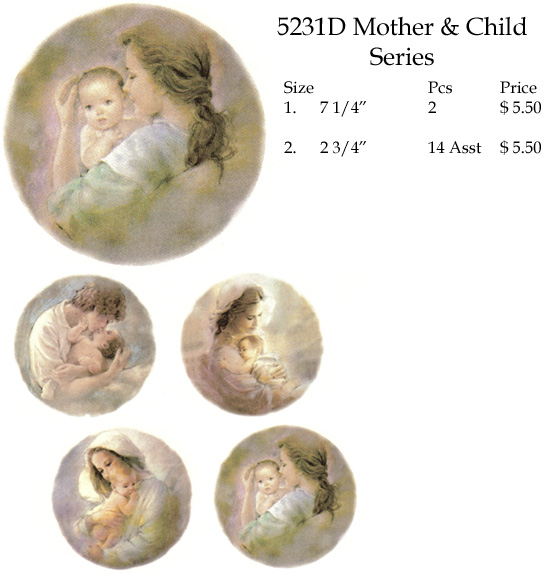 5231D Mother & Child Series