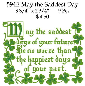 594E May the Saddest Day