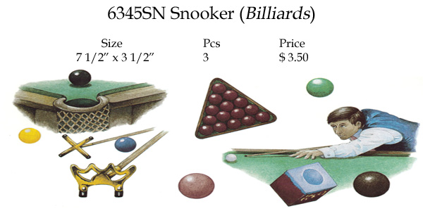 6345AN SNOOKER (BILLIARDS)
