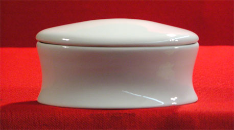 "A1197-7.5"" - OVAL TRINKET BOX"