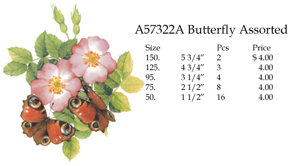 A57322A Butterfly Assortment