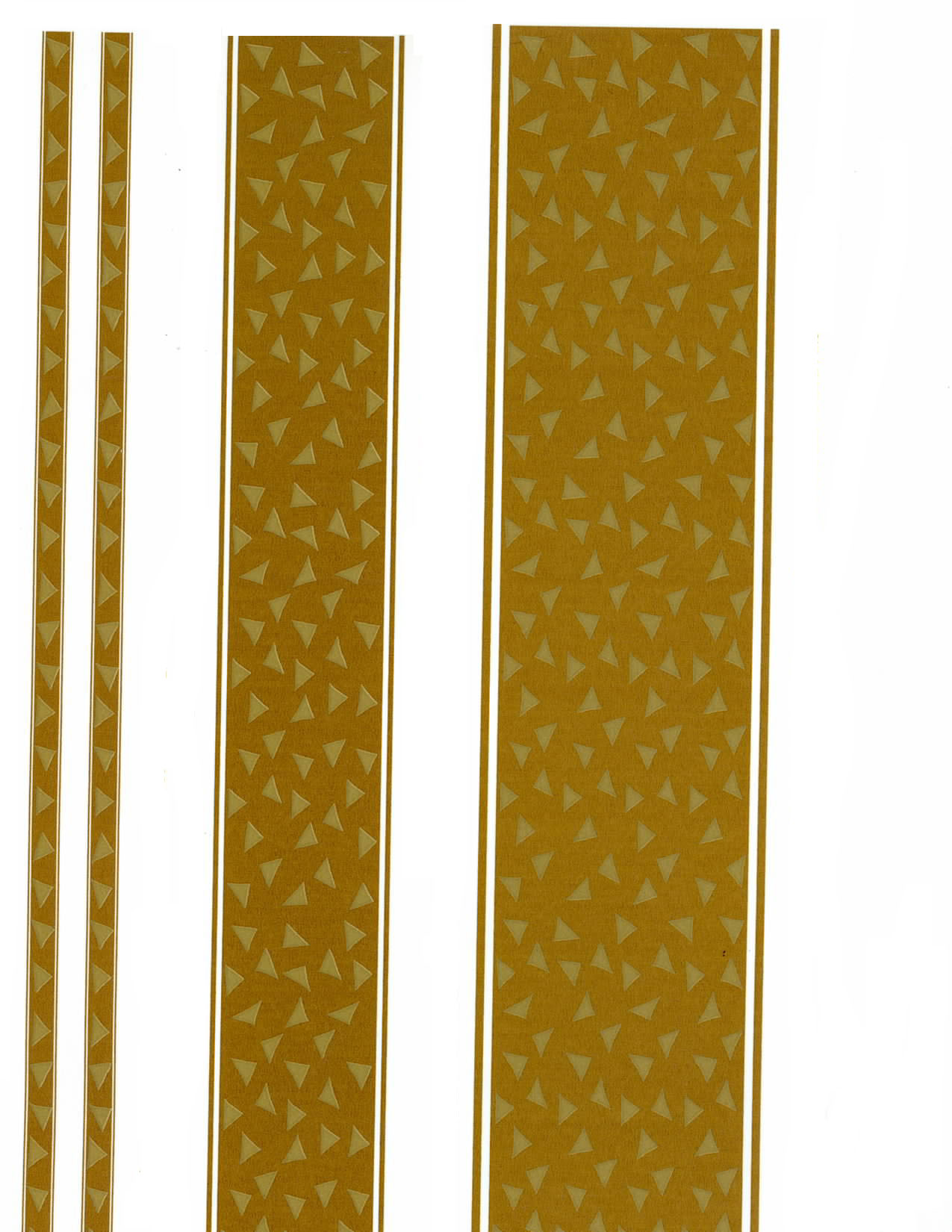 AG55853C SOLID GOLD BORDERS