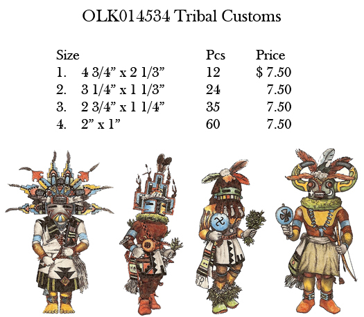 OLK014534 Tribal Customs