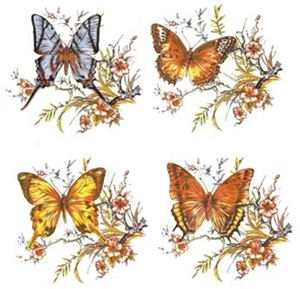 OLK146 Butterflies - Set of Four