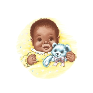 OLN631 African American Baby