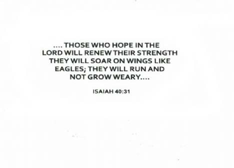 OLN694A THOSE WHO HOPE IN THE LORD..