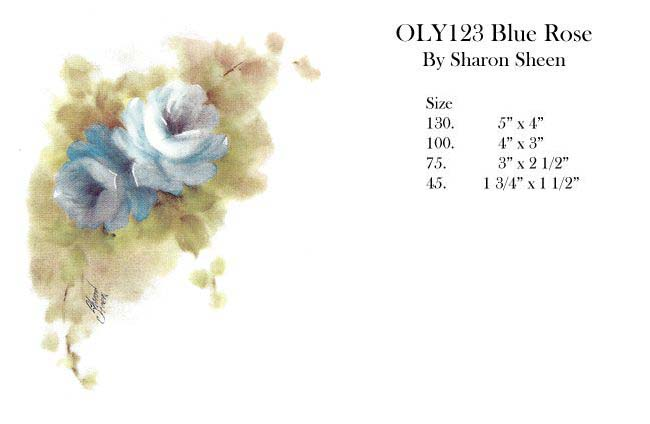 OLY123 Blue Rose