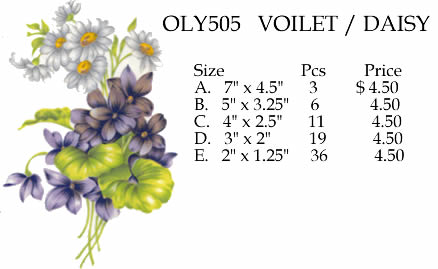 OLY505 Violet / Daisy