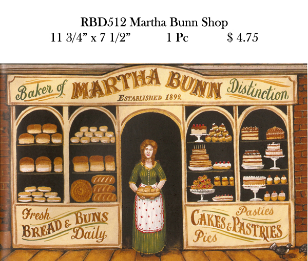RBD512 Martha Bunn Shop