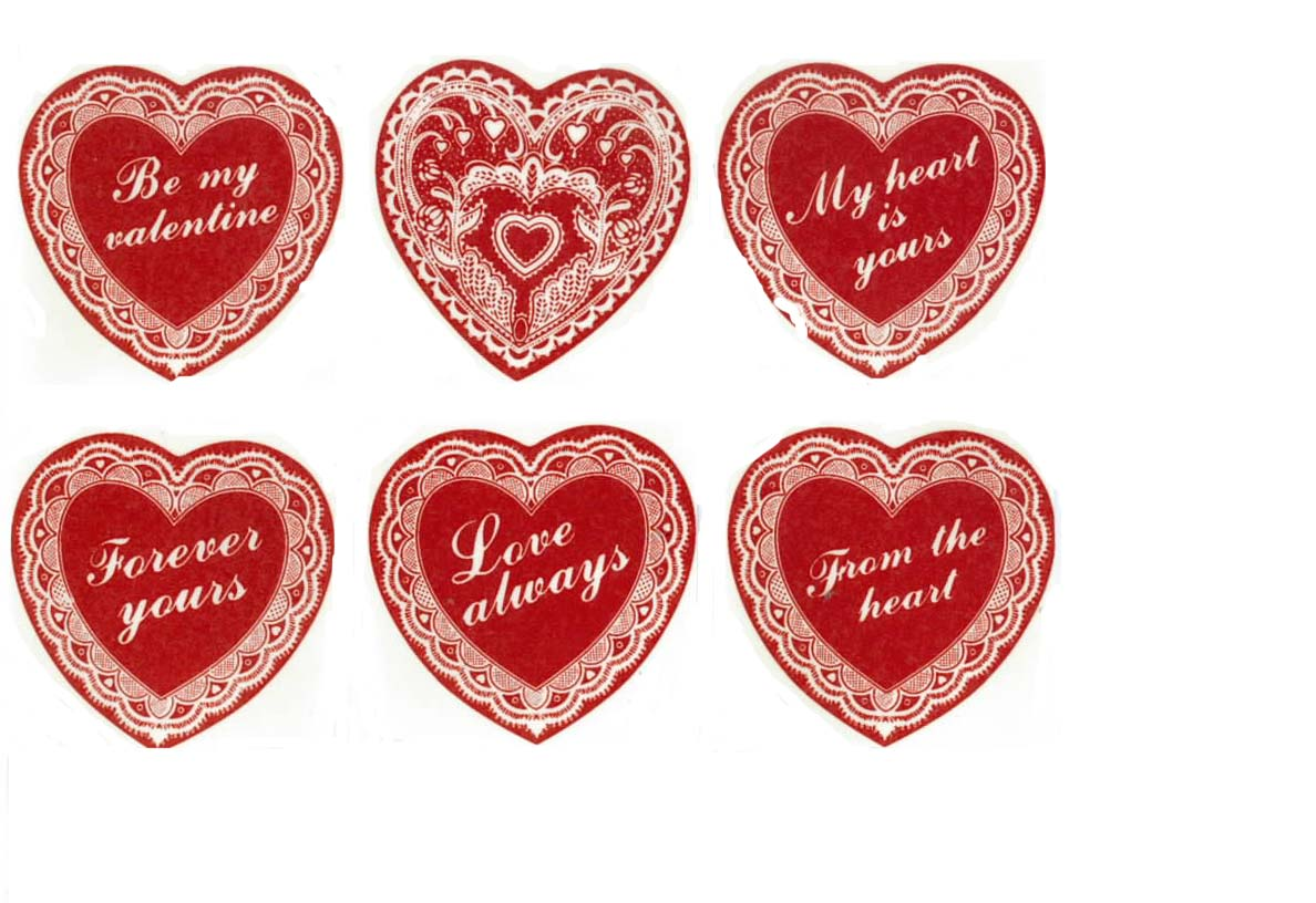 REF322 ASSORTED VALENTINES