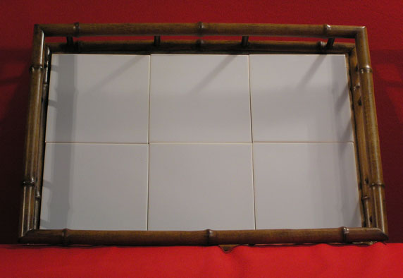 030262 - RECTANGULAR BAMBOO TRAY (OPEN SIDES)