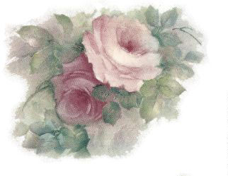 10870 Pink Roses by Helen Humes