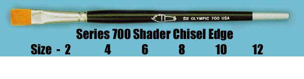 Series 700 Shader Chisel Edge