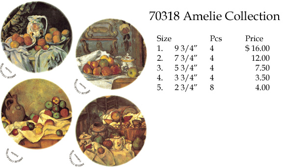 70318 Amelie Collection