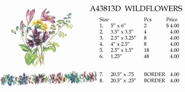 A43813D WILDFLOWERS