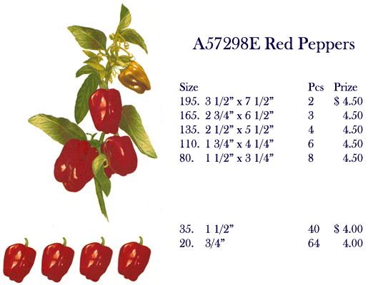 A57298E Red Peppers