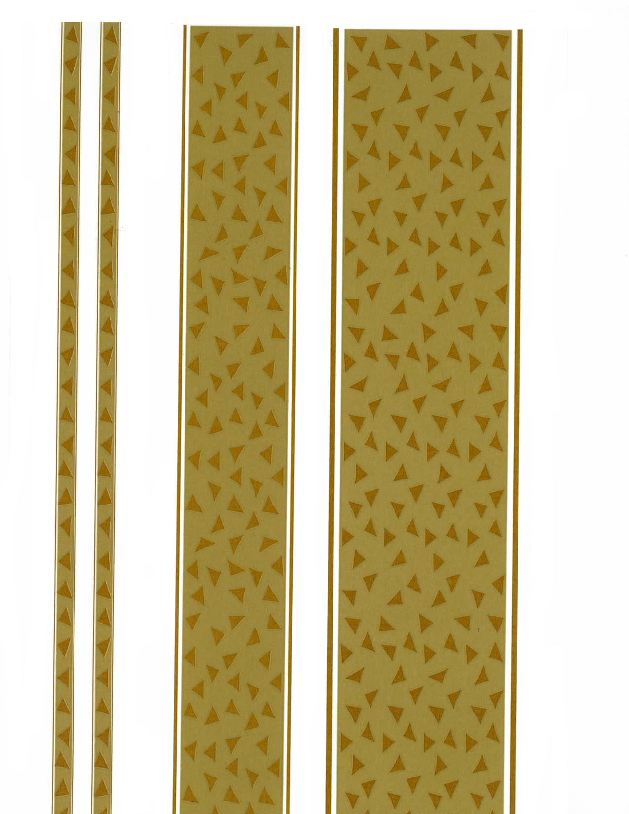 AG55853D SOLID GOLD BORDERS