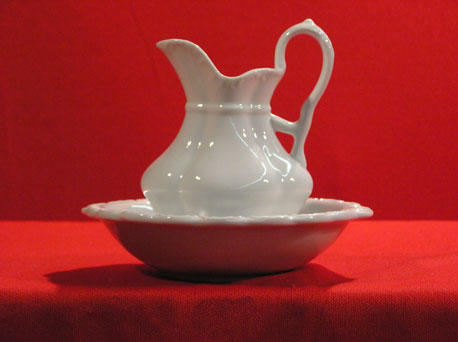 "D1116-6.5"" - PITCHER & BOWL"