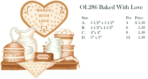 OL286 Baked With Love