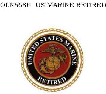 OLN668F - US Marine Retired