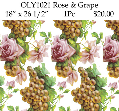 OLY1021 Rose & Grape