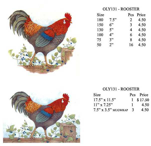 OLY131 - ROOSTER
