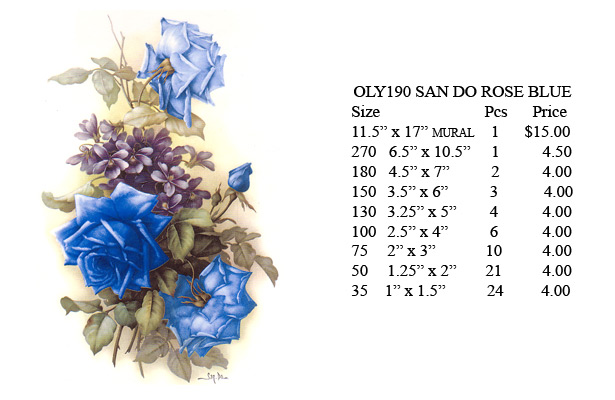 OLY190 - SAN DO ROSE BLUE