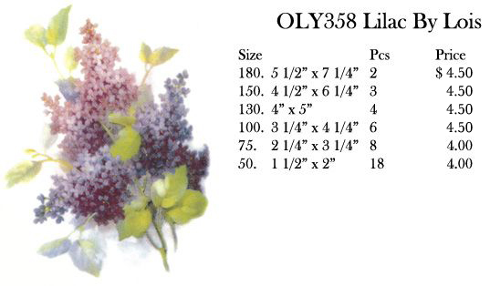 OLY358 Lilac By Lois