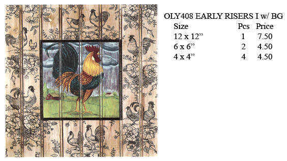 OLY408 - EARLY RISERS I