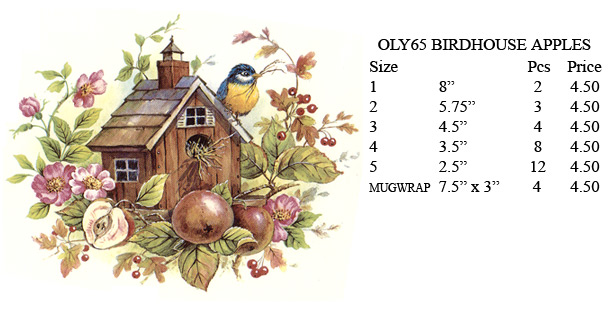 OLY65 - BIRDHOUSE APPLES