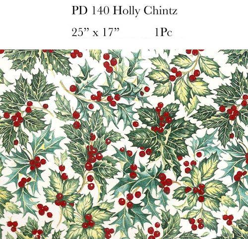 PD140 HOLLY CHINTZ