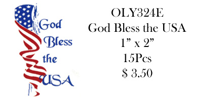 OLY324 E God Bless America