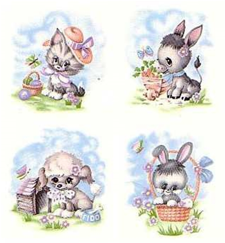 145 - CUTSIE EASTER ANIMALS